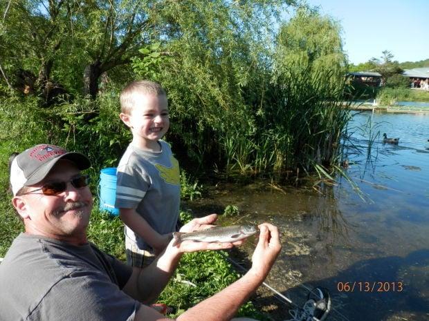 Bullfrog fish farm hosts youth event variety for Dunn fish farm