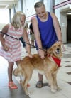 Airport adds canine companion to greeter program