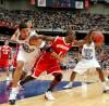 Sharif Chambliss, Sean May, UW men's basketball vs. North Carolina