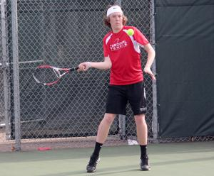 Photos: Eau Claire North at Chi-Hi boys tennis 4-16-15
