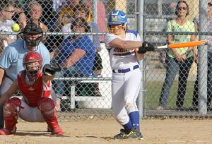 Photos: Thorp at McDonell softball 4-17-15