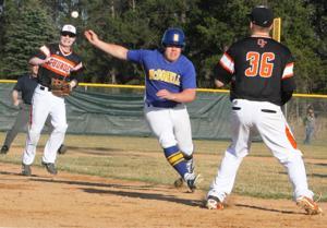 Photos: Osseo-Fairchild at McDonell baseball, 4-14-15