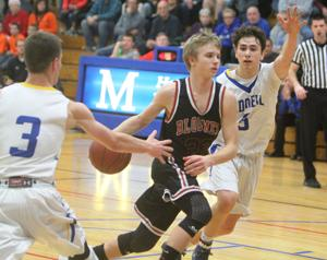 Photos: Bloomer at McDonell boys basketball, 2-8-16
