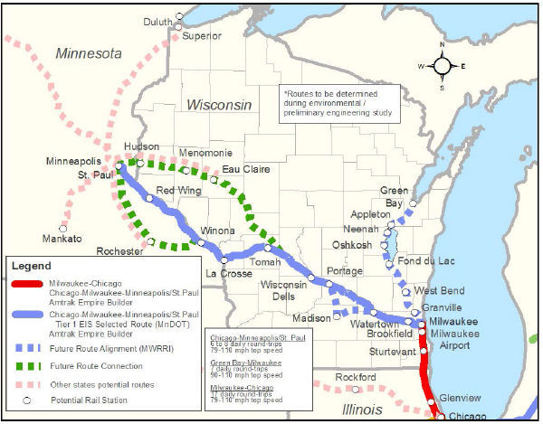 Coalition Working To Connect Chippewa Valley Via Rail