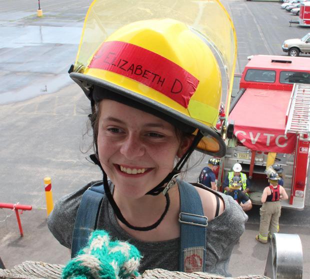 Local girls explore firefighting, EMS careers