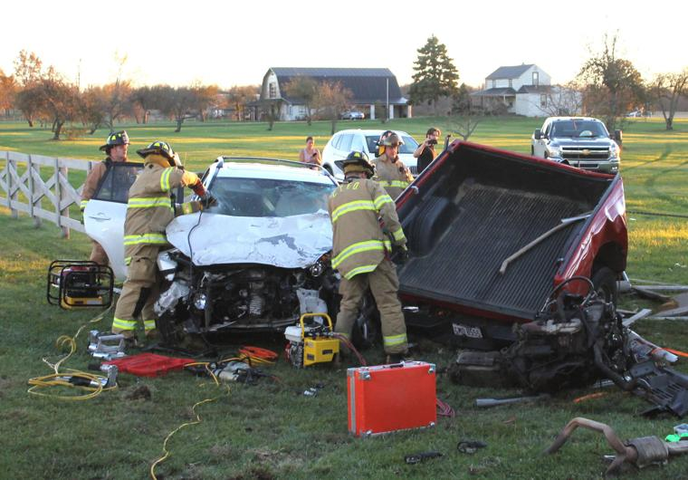 Two flown to columbus hospitals after tuesday afternoon crash