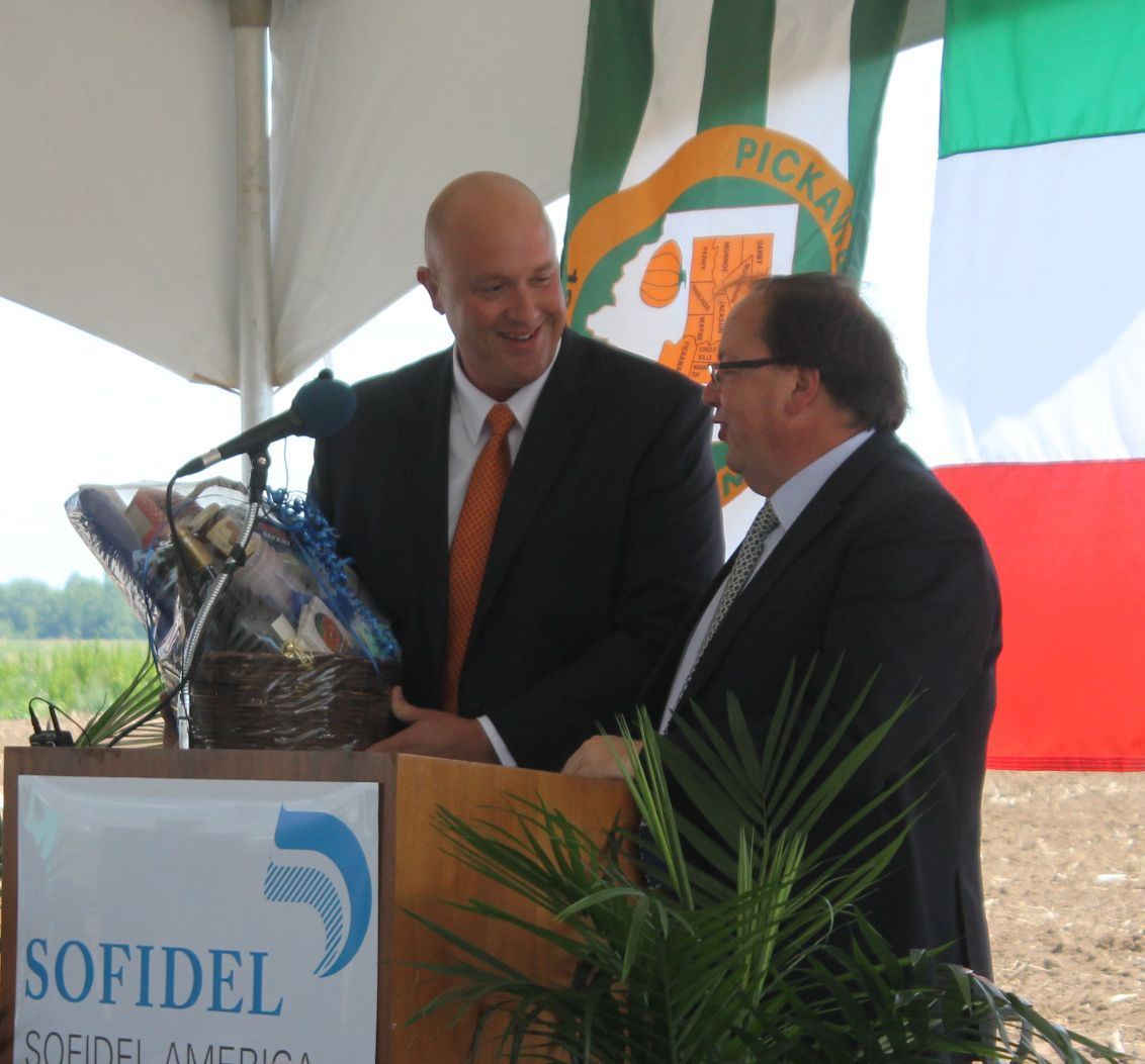 Sofidel Breaks Ground In Circleville News