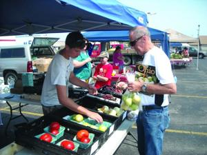 Jack Hooks at the Pickaway County Farmers Market
