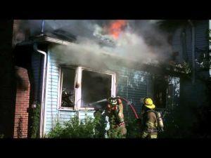 Fire on North Pickaway Street