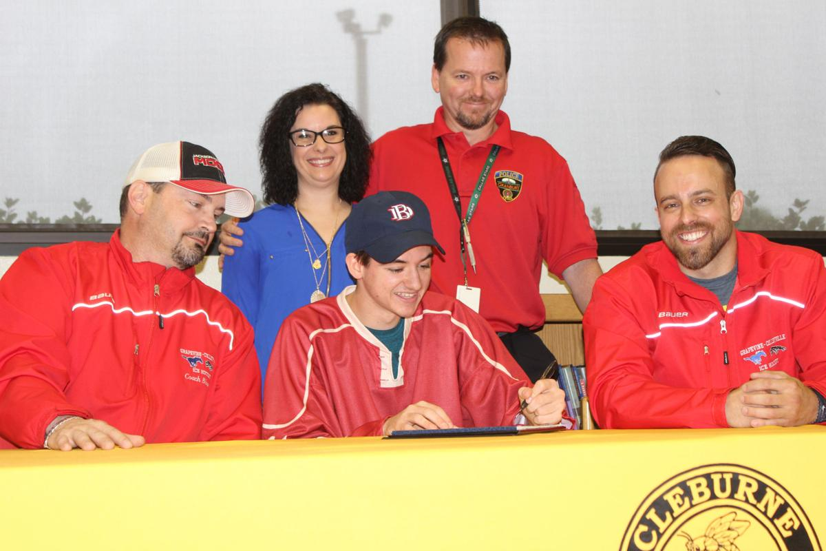 MI H.S.: College Hockey Signing Is A First For Cleburne HS