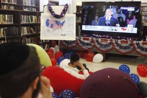 Watching Obama's speech
