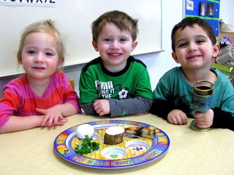 Agnon preschool students