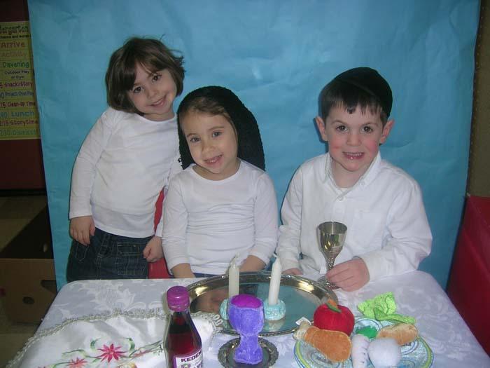Daniella Kessler, Tehilla Lipton, Dovi Klarfeld