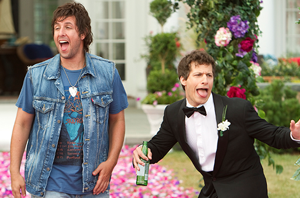 Adam Sandler and Andy Samberg in