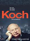Poster from 'Koch,' Neil Barsky's film.