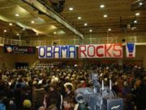 OBAMA KICKS OFF CAMPAIGN IN OHIO with Cleveland stop at Tri-C East ...