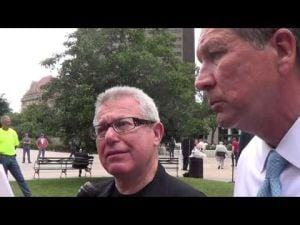 Gov. John Kasich discusses Ohio Holocaust Memorial