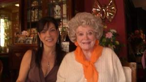 Heidi Rotbart, left, and Phyllis Diller