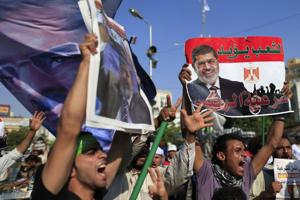 Morsi Supporters, July 4, 2013
