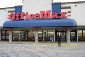 The first OfficeMax store