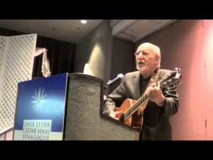Peter Yarrow performing at Executive Caterers at Landerhaven