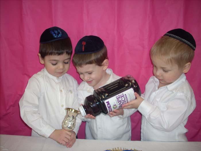 Sholom Fleisher, Zevi Fishbane, Avrohom Yitzchok Kohn