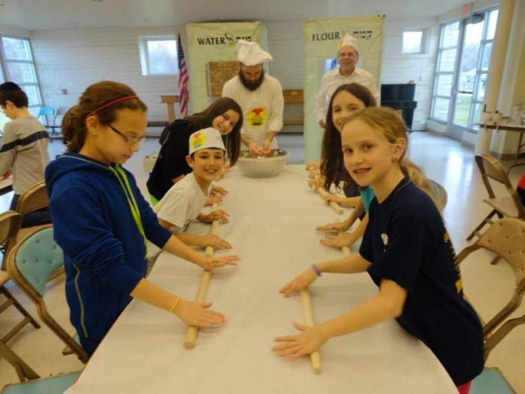 matzah-making workshop