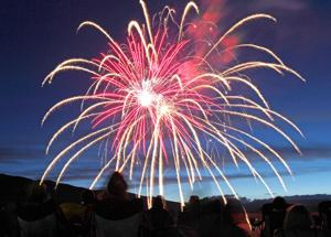 Fireworks show in Cody will go on