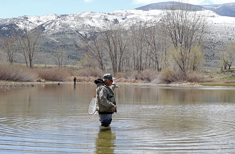 Newton lakes fly fishing local news for Cody wyoming fly fishing