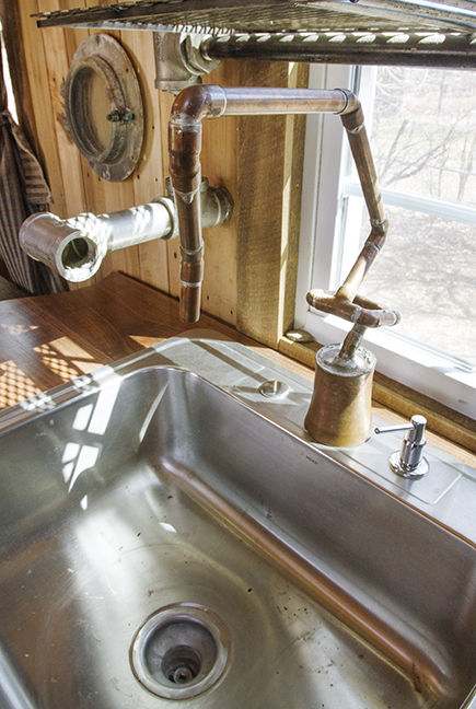 Homemade sink faucet - Four encastrable style ancien ...