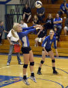 Lady Vikes drop 5-set thriller to Wildcats