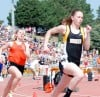 Huskies gain experience at state track
