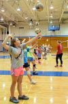 Young athletes 'Go Play' at sports clinics