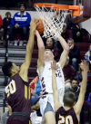 CHS contains Husker recruit, whose teammates pick up slack