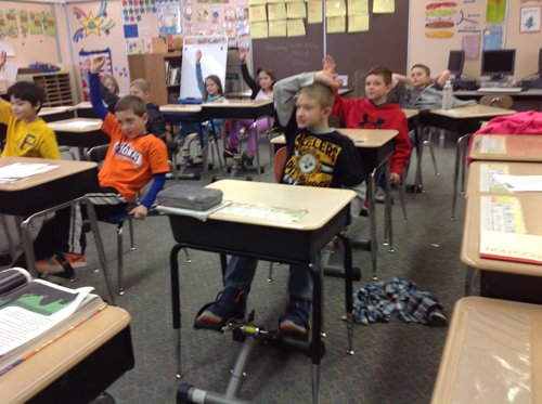 Under Desk Pedals Help Students Learn Better Armstrong