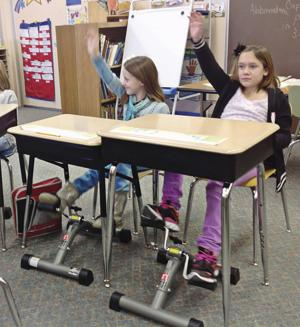 Under-desk pedals help students learn better - Community ...