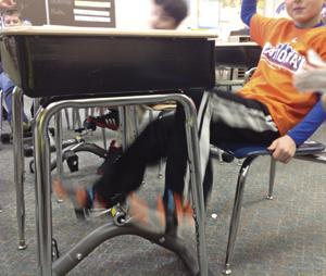 Under Desk Pedals Help Students Learn Better Community