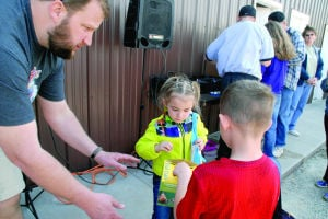 Here's a look at the Ehlinger's Easter Egg Hunt on Saturday at Rodgers Park