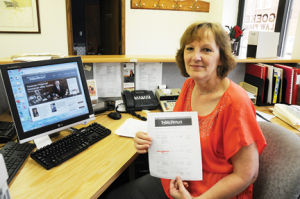 <p>Merri Harris frequents www.greatiowatreasurehunt.com in search of forgotten or lost money. She says she is often lucky.</p>