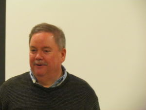 <p>Dr. Anthony Leo was the guest speaker at the Oelwein Historical Society meeting and told of his Italian heritage and how it related to the town of Oelwein and the Italian immigration to this area.</p>