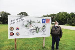 <p>Carl Benning, the vice chair of WAVP and a member of the AMVETS, traveled to Des Moines for the grant.</p>