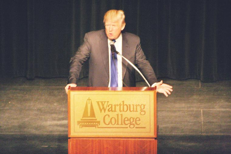 Trump: Pros should run America - Waverly Newspapers: Waverly ...