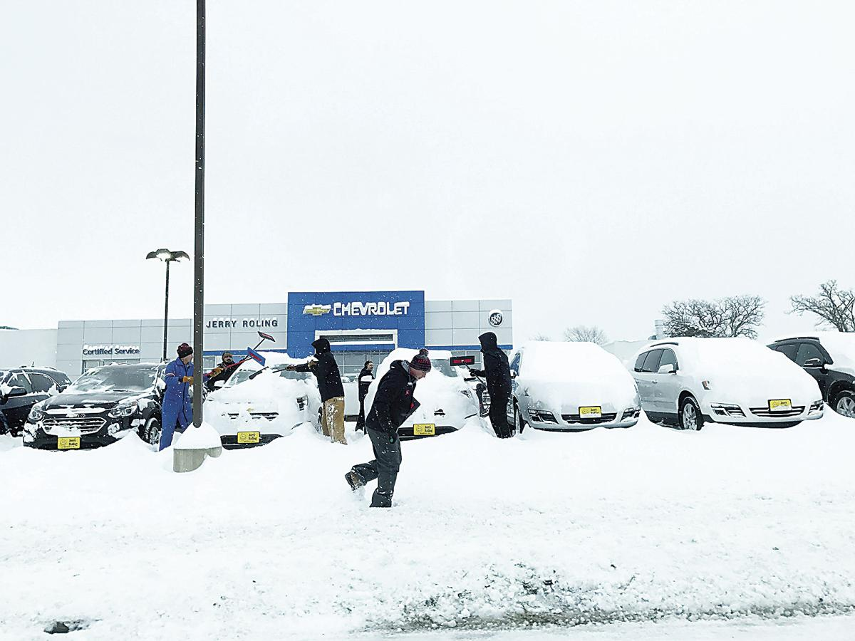 Winter returns to area packing punch news for Jerry roling motors waverly