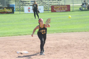 The Stormin' Pointers defeated the Spirit lake Indians, 5-2, in the second game of the Class 3A Consolation bracket Tuesday, July 22.  They will take on Mid-Prairie Wednesday, July 23 in the fifth place game.