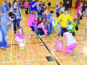 <p>There were almost 3,000 eggs prepared for the event.</p>