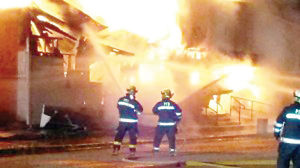 <p>Frederika and Tripoli firefighters were called to a barn fire on Monday night.</p>