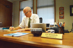 <p>W-SR Superintendent Ed Klamfoth says serious discussions regarding the budget will be held soon.</p>