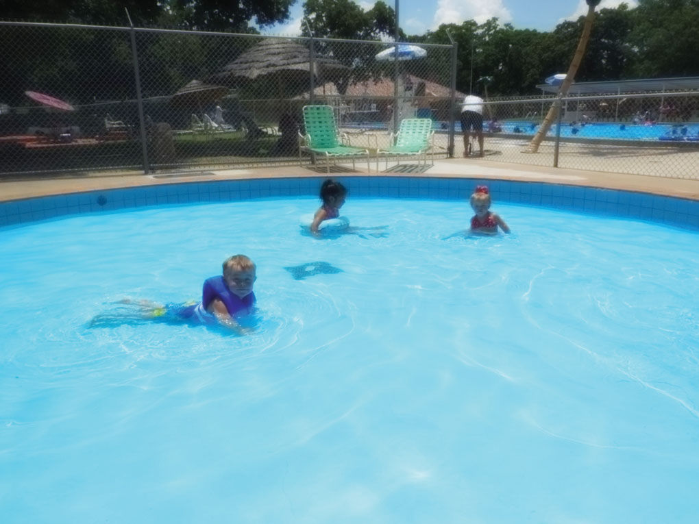 Beat the heat jester park pool opens news for Opening pool for summer