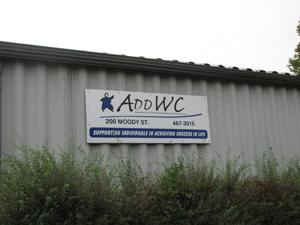 <p><span>ADDWC's facility is located on Moody Street in Eureka. Individuals with developmental disabilities sort and bail through recyclable materials dropped off by members of the community outside. The materials are then taken to Bloomington, where money is received to help support ADDWC's programs. </span></p>