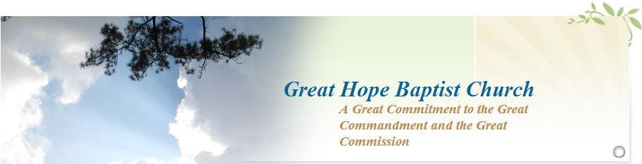 Great Hope Baptist Church